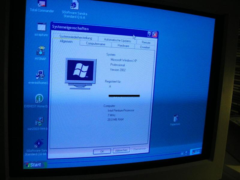 Windows xp for pentium 2 Foto