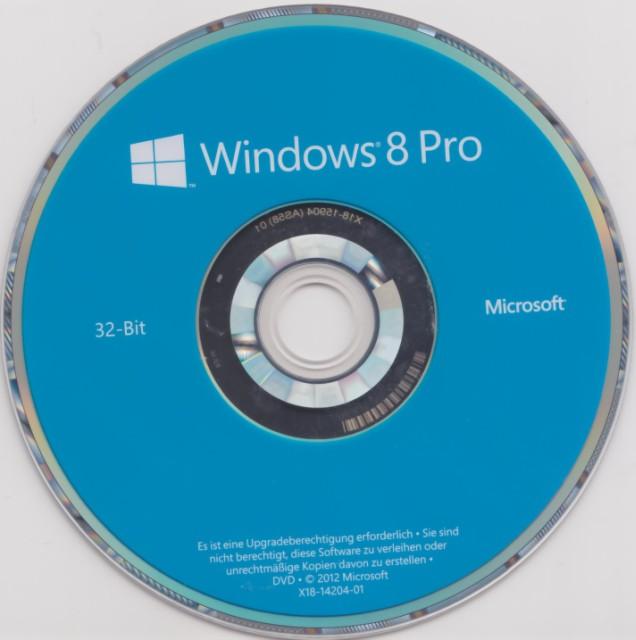 Windows 8 CD