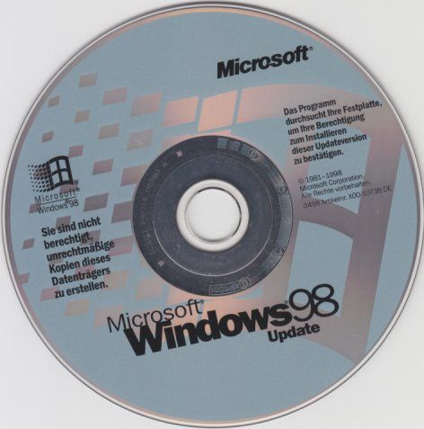 windows 98 oem: