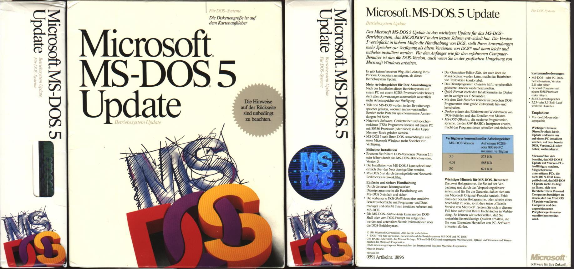 MS- DOS- Kurzhandbuch( bis Version 3.3) .