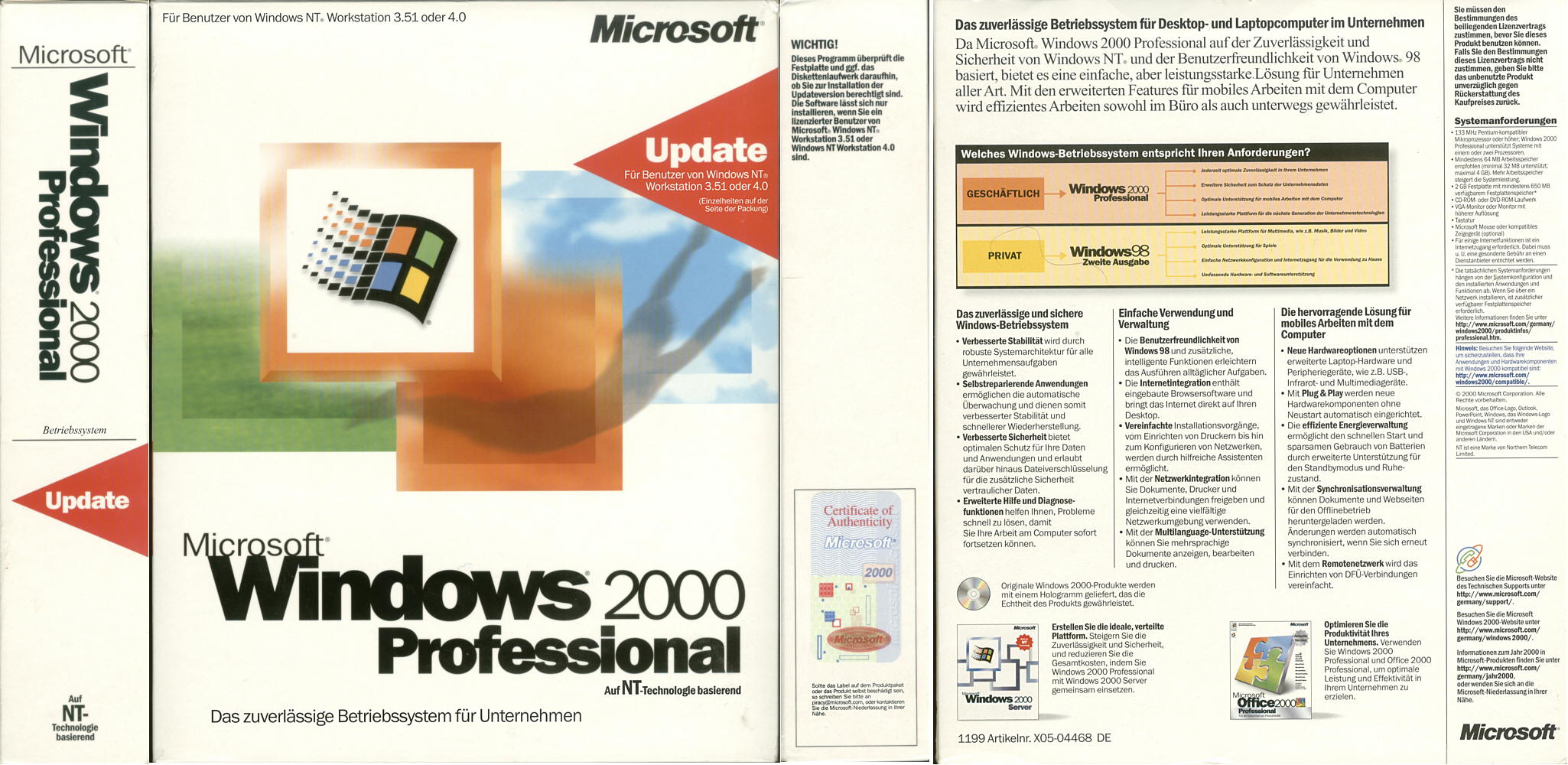 Windows Übersicht