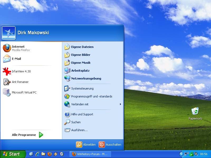gestartete programme windows 10